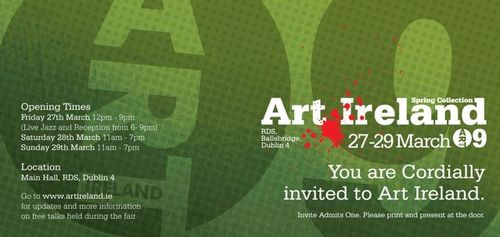 Art Ireland invite 3-09